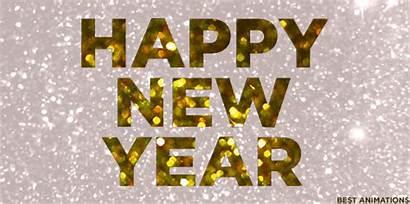 Happy Sparkle Glitter Holidays Newyear Golden Gifs