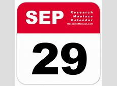 Information about September 29