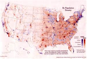 Us Population Density Map