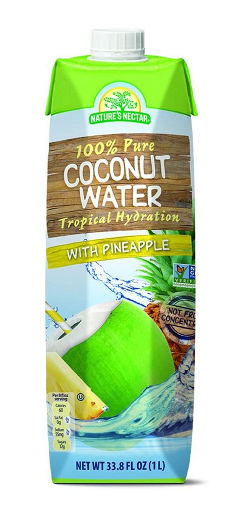 natures nectar  coconut water    amazing