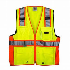 TR Industrial Medium 3M Class 2 Safety Vest with Pockets