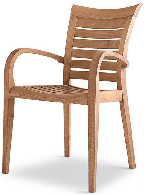 chaise en bois avec accoudoir mirage b fauteuil pour jardin en bois robinier sediarreda