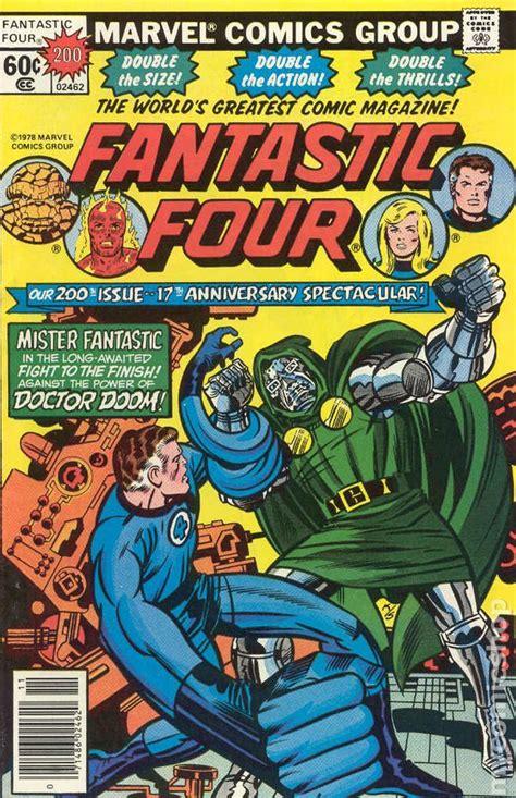 Fantastic Four comic books issue 200