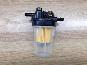 Kubota 6a320 58862 Complete Diesel Gasoline Fuel Filter Assembly Universal