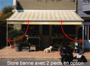 Store Banne Sur Pied : store banne 2 pans store banne 2 pans with store banne 2 ~ Premium-room.com Idées de Décoration