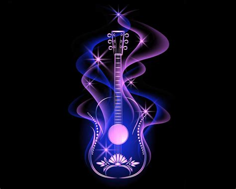 Animated Guitar Wallpaper - cool guitar wallpaper wallpapersafari