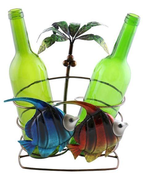 isabella fish  palm tree  bottle tabletop wine bottle rack wine bottle rack wine bottle