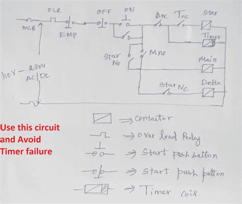 Sep 13, 2015 · automatic star delta starter using relays and adjustable electronic timer for induction motor automatic speed regulation depending on incoming vehicle on high ways (fuel injection) automatic solar tracker How to avoid star delta Timer failure in star delta starter | Electrical4u