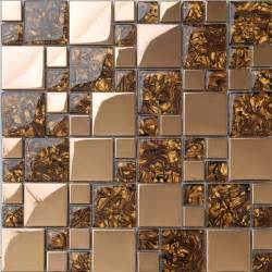 mosaic tile kitchen backsplash metal mosaic tile golden kitchen backsplash tile bath wall tile resin 1941 modern mosaic