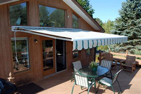 retractable awnings deck patio awnings   home