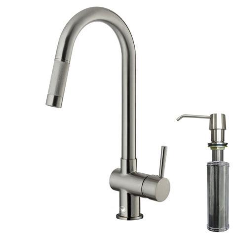 kitchen faucet pull out sprayer vigo single handle pull out sprayer kitchen faucet with