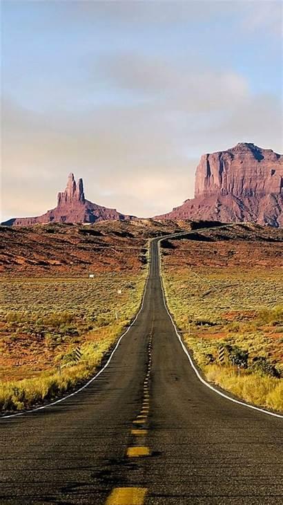 Iphone Road Landscape Mountains Usa Rock Arizona