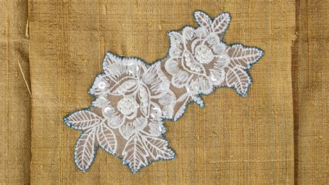 how to sew applique how to sew on lace applique