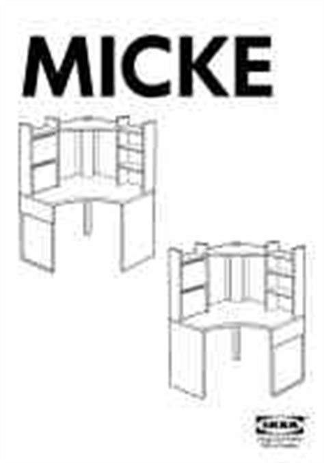ikea corner desk instructions ikea micke corner workstation 39x60 furniture download