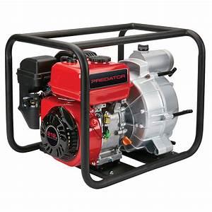 3 In  212cc Gasoline Engine Semi-trash Water Pump