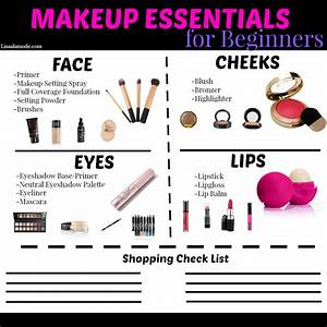 Makeup Essentials For Beginners Guide