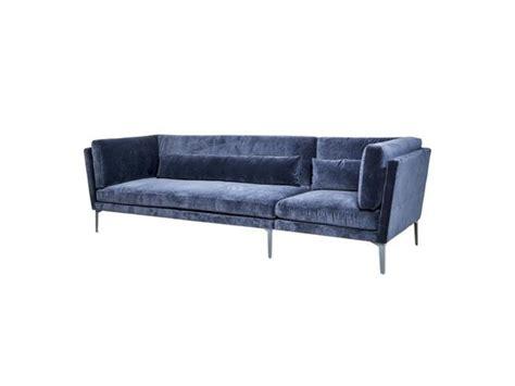 Bloomingville Rox Sofa Bench Blue Velvet