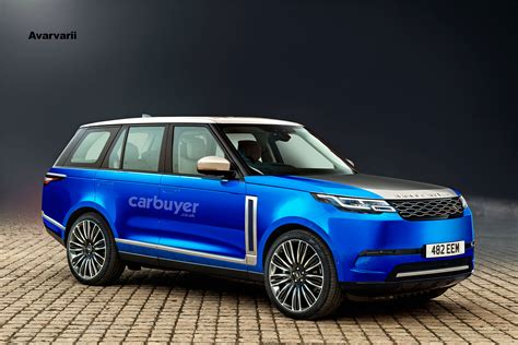 electric range rover previewed  exclusive images