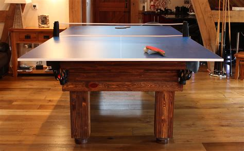 Table Or Table by Table Tennis Top Luxury Pool Tables