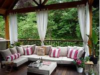 patio decor ideas Outdoor Curtains for Porch and Patio Designs, 22 Summer ...