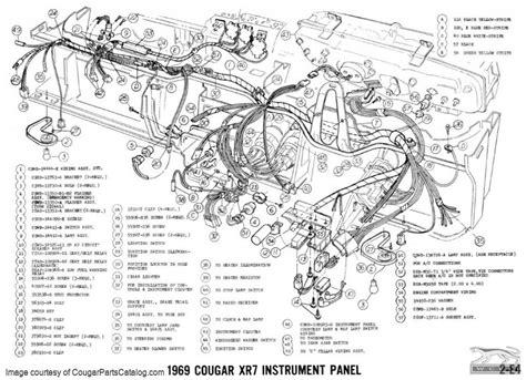 mercury cougar wiring diagram wiring diagram