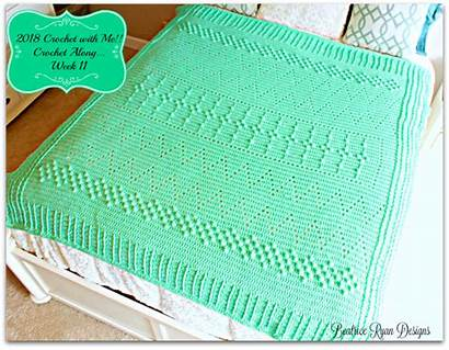 Crochet Week Along Mystery Afghan Project Beatrice