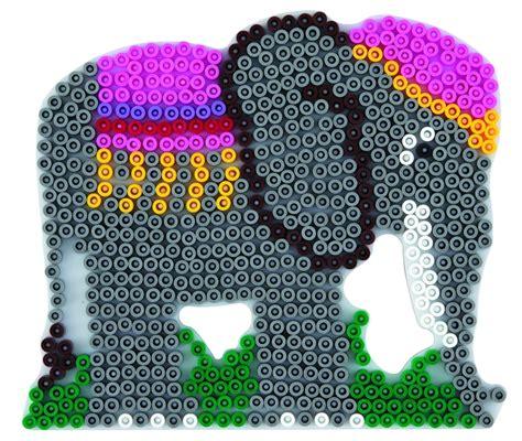 hama stiftplatte elefant weiss midi stiftplatten
