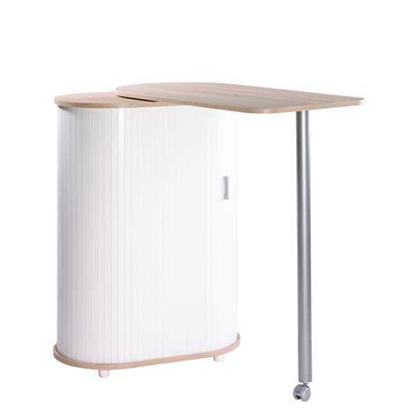 meuble cuisine table table pivotante et meuble de rangement de cuisine chêne