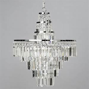 Vasca crystal bar large bathroom chandelier chrome from for Chandeliers for bathrooms uk