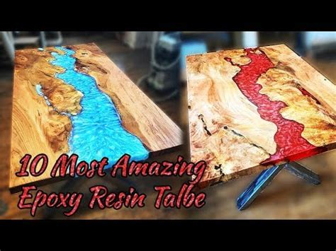 amazing epoxy resin table awesome woodworking