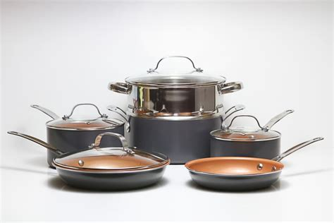 gotham steel  red copper whats   copper pan   gas  art science culture