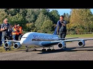 WORLDS BIGGEST RC AIRLINER A-380 800 GIGANTIC XXXL 71KG ...