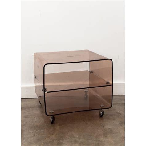 Table De Nuit Plexiglas by Cheap Table De Chevet En Plexiglas Range Vinyles Roche