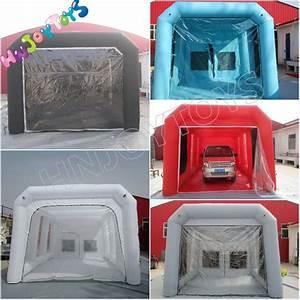 Top Marque Gonflable Cabine De Pulvérisation Tente, Pas Cher Cabine De Peinture, Mobile Lit