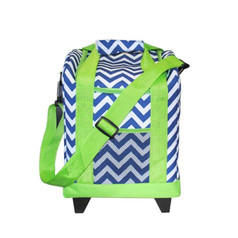 mainstreet collection rolling cooler navy chevron monogram tote bags navy chevron monogram bag