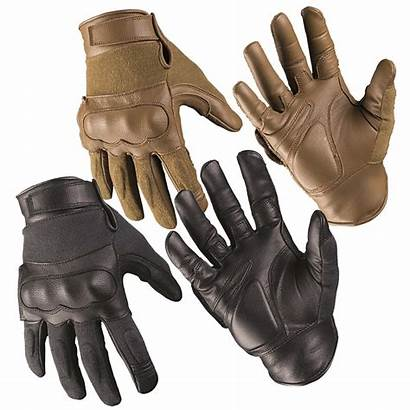 Tactical Gloves Leather Mil Tec Aramide