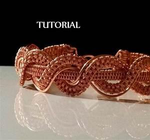 Tutorial Twisted Braid Copper Bracelet