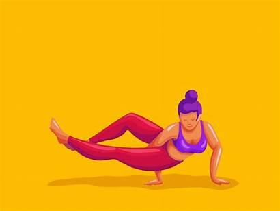 Dribbble Animation Yoga Amar Tell Animated Cost