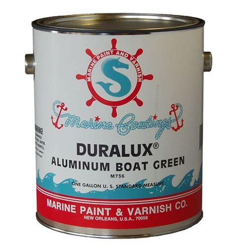 How To Repair Aluminum Boat Paint by Duralux Aluminum Boat Paint Green Quart