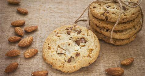recette cookies au chocolat  aux amandes en video