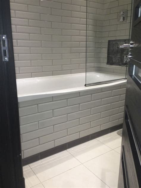tiled bath panel bathroom tiles tiled bath panel