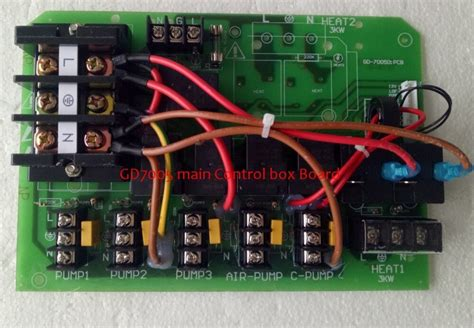 Circuit Board For Main Control Box Fit