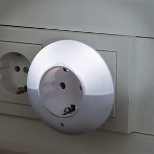 Nachtlicht Mit Steckdose : zwischenstecker mit led nachtlicht rund nl r3 47166 mit ~ Watch28wear.com Haus und Dekorationen