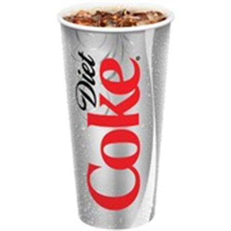 Diet Coke Fountain Cup,: Calories, Nutrition Analysis