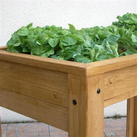 table bac a bois table 224 potager sur 233 lev 233 e en bois
