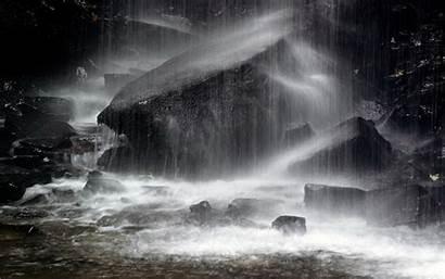 Rain Wallpapers Vista Dark Raining Rainy Backgrounds