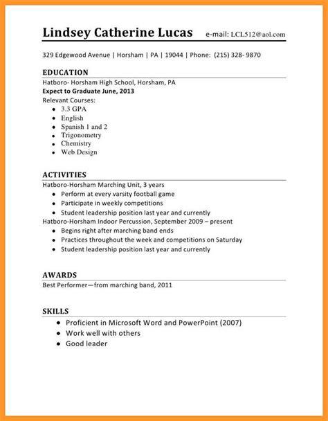 12 13 resume sle for first time seeker loginnelkriver com