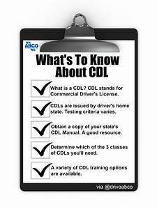 What It Takes To Get A Cdl