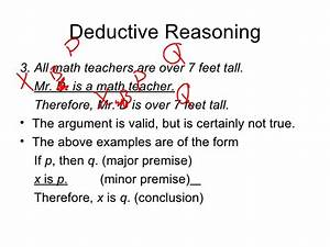 Procedure Of Deductive Reasoning Venn Diagrams