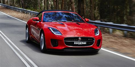 2018 jaguar f type four cylinder pricing and specs photos 1 of 25